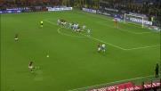 Ibrahimovic manca la deviazione vincente sulla punizione di Pirlo