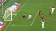 Ibrahimovic mette in rete l'assist perfetto di Aquilani