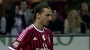 Ibrahimovic pareggia lo svantaggio iniziale al Meazza