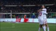 Ibrahimovic segna il secondo goal del Milan sul Catania
