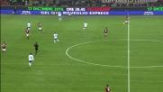 Ibrahimovic si esibisce in un passaggio no-look al volo contro il Brescia