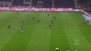 Icardi non trova la deviazione sottoporta contro il Milan