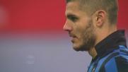 Icardi spreca tutto e calcia sul palo il rigore nel derby contro il Milan
