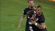 Vidal realizza la sua doppietta personale in Lazio-Juventus