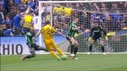Il Verona sfiora il goal col Sassuolo con un'azione corale da applausi