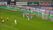 Toni ribadisce in goal il rigore parato da Bizzarri nel derby di Verona