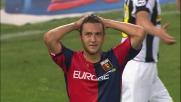 Palo di Jankovic contro la Juventus con un colpo di testa