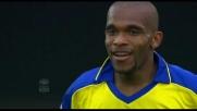 Il Bentegodi festeggia il primo goal in Serie A di De Paula