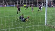 Il Cagliari con Storari si salva sul doppio tentativo di Dzeko
