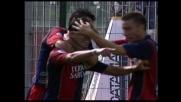 Il Cagliari conquista i tre punti grazie al goal di Esposito