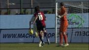 Il Cagliari dilaga contro il Chievo con il goal di Nenè