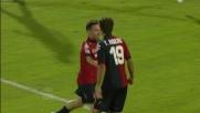 Il Cagliari fa poker con il goal di Thiago Ribeiro