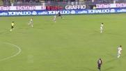 Il Cagliari passa in vantaggio con un goal di Ibarbo ai danni del Milan