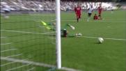 Il Cagliari ringrazia Brkic sul sinistro di Defrel