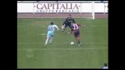 Il Cagliari riprende la Lazio con il goal di Langella