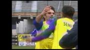 Il Chievo sorpassa il Cagliari con il goal di Pellissier