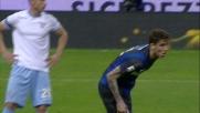 Il colpo di testa di Alvarez riporta il match Inter-Lazio in pareggio