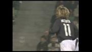 Il colpo di testa di Nedved contro l'Udinese finisce a lato
