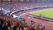 """Il coro dei tifosi del Napoli """"Un giorno all'improvviso"""""""