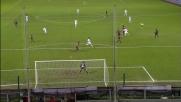 Il destro di Zarate colpisce la traversa: la Fiorentina perde a Genova