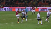 Il destro rasoterra di Nocerino porta in vantaggio il Milan sul Siena