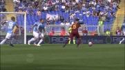 Il fantastico destro a giro di Pjanic si stampa sul palo nel derby di Roma