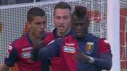 Il Genoa sblocca il risultato con un goal di Niang