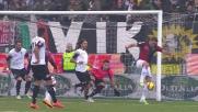 Il giocatore del Genoa Antonelli sorprende tutti e raddoppia ai danni del Cesena
