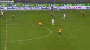 Il giovane Diawara dà spettacolo e Jankovic lo abbatte in tackle