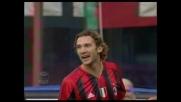 Il goal da opportunista di Shevchenko vale i 3 punti per il Milan