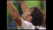 Il goal di Amauri gela Marassi: il Palermo riagguanta il Genoa