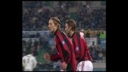 Il goal di Ambrosini regala la vittoria al Milan all'Olimpico contro la Lazio