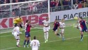 Il goal di Antonelli punisce il Milan a Marassi