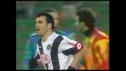 Il goal di Antonio Di Natale serve a poco: vince il Lecce