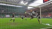 Il goal di Armero porta in vantaggio l'Udinese a San Siro contro il Milan