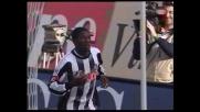 Il goal di Asamoah fulmina il Palermo: l'Udinese pareggia l'incontro
