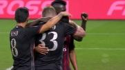 Il goal di Bacca contro la Lazio fa gioire San Siro