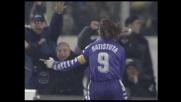 Il goal di Batistuta condanna la Juventus