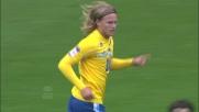 Il goal di Bjarnason permette al Pescara di accorciare le distanze a Napoli