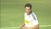 Il goal di Bogdani da calcio di rigore contro il Genoa