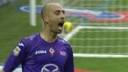 Il goal di Borja Valero castiga il Milan al Meazza
