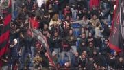 Il goal di Borriello riapre la gara col Catania a San Siro