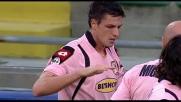 Il goal di Budan contro il Cagliari incanta il Barbera