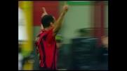 Il goal di Cafù mette il sigillo alla vittoria del Milan sul Parma