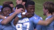 Il goal di Candreva su rigore sblocca la sfida tra Lazio ed Empoli