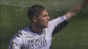 Il goal di Destro porta il Siena sul 2 a 0 in casa del Genoa