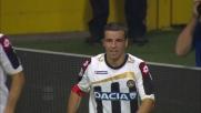 Il goal di Di Natale riporta in parità la gara con l'Inter a San Siro