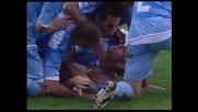 Il goal di Domizzi contro l'Udinese fa impazzire di gioia De Laurentiis