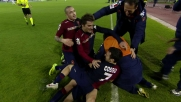 Il goal di Ekdal conclude lo show del Cagliari contro la Roma