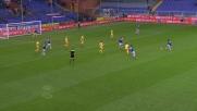Il goal di Fernando contro il Frosinone fa gioire la Sampdoria